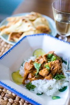 Instant Pot Butter Chicken: Easy and family friendly recipe.