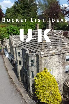 Bucket List Ideas UK - Things to do in the UK