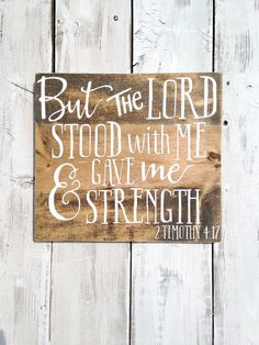 Bible verse on wood bible verse wall art by WoodenThatBeSomethin