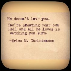 Erica M. Christensen || I love finding that people are sharing my work. I had no idea. <3 Sad Quotes, Quotes To Live By, Love Quotes, Hurt Quotes, Deep Quotes, Can I Keep You, Love You, Cool Words, Wise Words