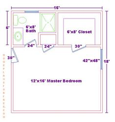Master Bedroom With Bathroom And Walk In Closet