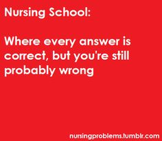 Best advice for new nursing students... along with the post about 4.0s- LOL!