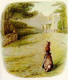 The Project Gutenberg eBook of The Tale Of Flopsy Bunnies, by Beatrix Potter. Beatrix Potter Illustrations, Beatrice Potter, Peter Rabbit And Friends, Books Australia, Marjolein Bastin, Book Illustration, Woodland Illustration, Children's Literature, Lake District