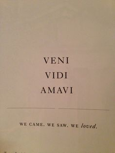 veni vidi amavi tattoo - Google Search