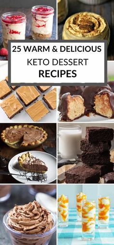 If you're following a ketogenic diet, I have found some of the bestKeto recipes that fit within the program guidelines. This list has25 scrumptious Keto Desserts that are sure to make you drool.  #itisakeeper #recipes #keto Fun Easy Recipes, Best Dessert Recipes, Keto Desserts, No Bake Desserts, Quick Easy Meals, Crockpot Recipes, Keto Recipes, Group Meals, Pinterest Recipes