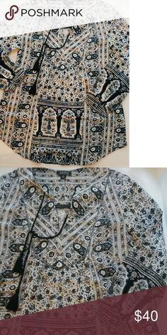 Nwot Lucky brand tunic sz XS Cute and stylish Lucky Brand Tops Tunics