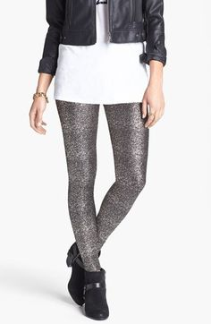Glitter leggings - I'm all about these!