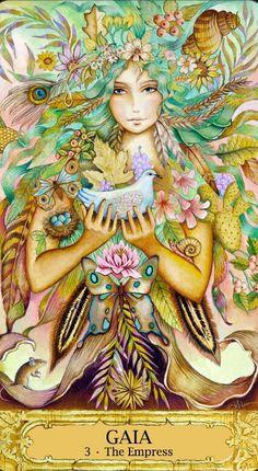 #Tarot - Key III – GAIA (Empress) Love this card! Awakenpastlives.com this tarot deck is wonderful to work with