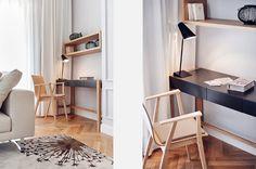 escritorio en poco espacio