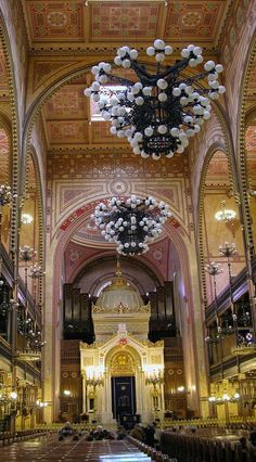 Dohany Street Synagogue in Budapest. #MostBeautifulArchitecture #Synagogues