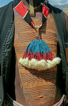 Africa | Details; Banna man.   Omo Valley, Ethiopia | ©Frans Devriese