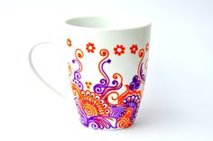 Tropical Delight - Personalised Mugs
