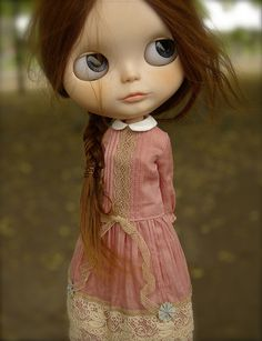 love everything about her. dress is especially cool, vintage, pleats etc.   Carrot in Berlin by ♥**Monica **♥, via Flickr