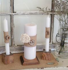 Personalized Unity Candles