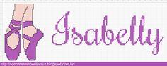 Nomes em Ponto Cruz: Isabelly - Nomes em Ponto Cruz