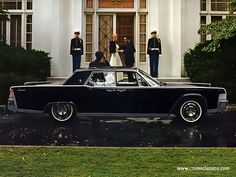 65' Lincoln Continental (suicide doors)