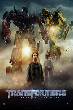Transformers 3 - poster by AndrewSS7 on deviantART