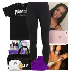 """Untitled #869"" by msixo ❤ liked on Polyvore featuring HUF, Maidenform, NIKE and Nixon"