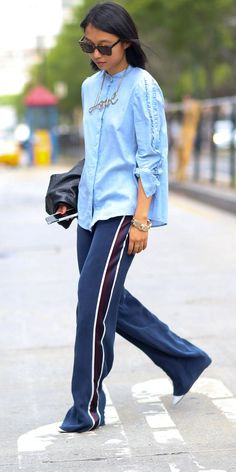 Margaret Zhang Spring 2015 Street Style Source by editorialistla