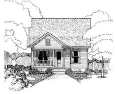 House Plan 72717 | Bungalow Plan with 1147 Sq. Ft., 3 Bedrooms, 2 Bathrooms, 2…