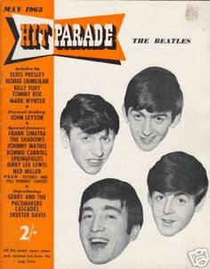 The Beatles on Hit Parade  1963