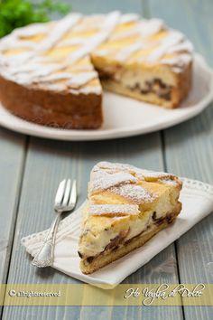 Amandine, melon and watermelon tartlets - Healthy Food Mom Fall Desserts, Healthy Desserts, Gourmet Recipes, Sweet Recipes, Crostata Recipe, Torte Cake, Plum Cake, Something Sweet, Food Print