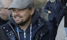 Leonardo DiCaprio, 42, swapped his philanthropic work for a spot of sightseeing on Saturday as he visited the Scottish capital's historic castle.