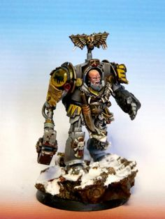 49k, Space Wolves, Terminator Armor, True Scale, Wolf Guard