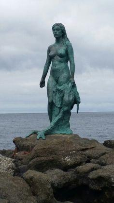 Kópakonan, Mikladalur, Faroe Islands. Photo, Ranvá Thorsteinsson.