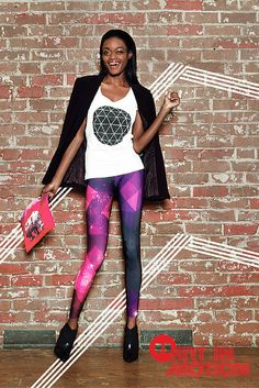 Make yourself a walking art gallery with tops, leggings, and pouches designed by independent artists from around the world. Be bold—turn your outfit into a statement.