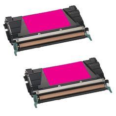 N 2PK Compatible C746A4MG Toner Cartridge For Lexmark C746DN C746DTN C746N C748DE C748DTE C748E