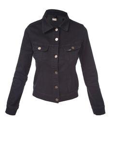 Rider Jacket in Midnight Riders Jacket, Rihanna, Leather Jacket, Denim, Jackets, Dresses, Fashion, Studded Leather Jacket, Down Jackets