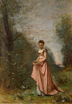 All sizes | Camille Corot: Springtime of life (1871) | Flickr - Photo Sharing!