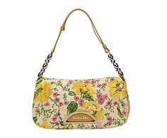 Bolso Dior Embroidered Floral Malice