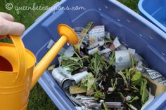 newspaper-water-compost