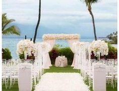 paisagens na praia de casamento - Pesquisa Google