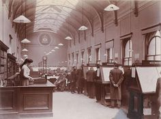 General Reading Rooms, Gorbals District Library, Main Street, 1907