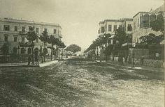 Nubar Street, Cairo, Egypt 1885
