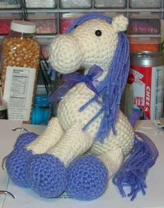 Crochet horse patterns