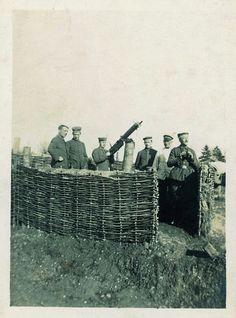 World War I 1917 - Adolf Hitler on the far right.