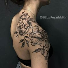 The shading and the span - tattoos - . - The shading and the range – tattoos – – - Pretty Tattoos, Cute Tattoos, Beautiful Tattoos, Incredible Tattoos, Shoulder Cap Tattoo, Shoulder Tattoos For Women, Flower Tattoos On Shoulder, 16 Tattoo, Back Tattoo