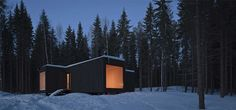 eco-chic-home-design-cool-finland-cabin-1.jpgFinnish architects Avanto Architects photo: Kuvio / Anders Portman & Martin Sommerschield