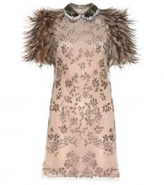 Valentino Feather dress