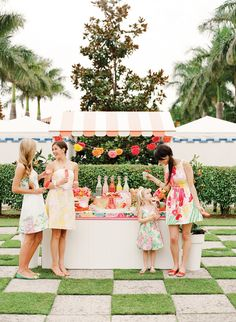Cute idea for a mocktail bar for your guests! See more mocktail ideas by @twineliving | http://www.weddingpartyapp.com/blog/2014/08/15/clever-ways-mix-up-wedding-bar/