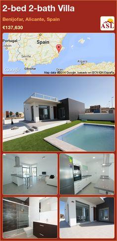 2-bed 2-bath Villa in Benijofar, Alicante, Spain ►€137,630 #PropertyForSaleInSpain