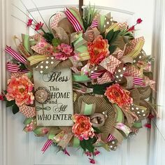 Don't you love this Door Blessing? It's one of Beading Heart Decor's latest designs. Check out the rest of our creations on Etsy and on Facebook! Our door is always open!:www.facebook.com/beadingheartdecor. www.etsy.com/shop/beadinghear
