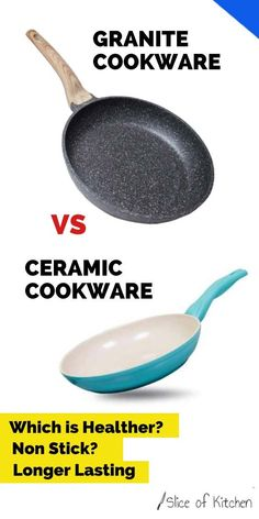 Granite Cookware vs Ceramic Cookware (What You Should Know) Shake, Pots And Pans Sets, Ga In, Protein, Ceramic Pots, Ceramic Coating, Pan Set, Cookware Set, Baking Tools