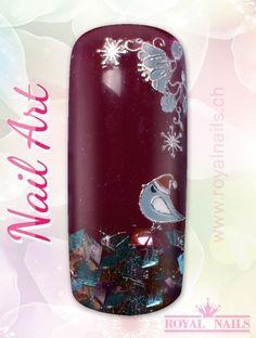 Christmas - Weihnachten Nail Art Design Inspiration Nr. 268 #christmas #weihnachten #santa-claus #nail-art #nailart #winter-holidays