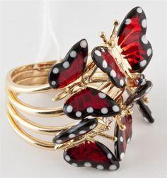 Кольца Бабочки - чтоб порхать по жизни!