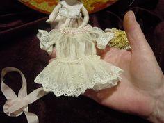 Antique Style Dress Hat German Antique Dress Mignonette Doll 5 1 2 Doll   eBay